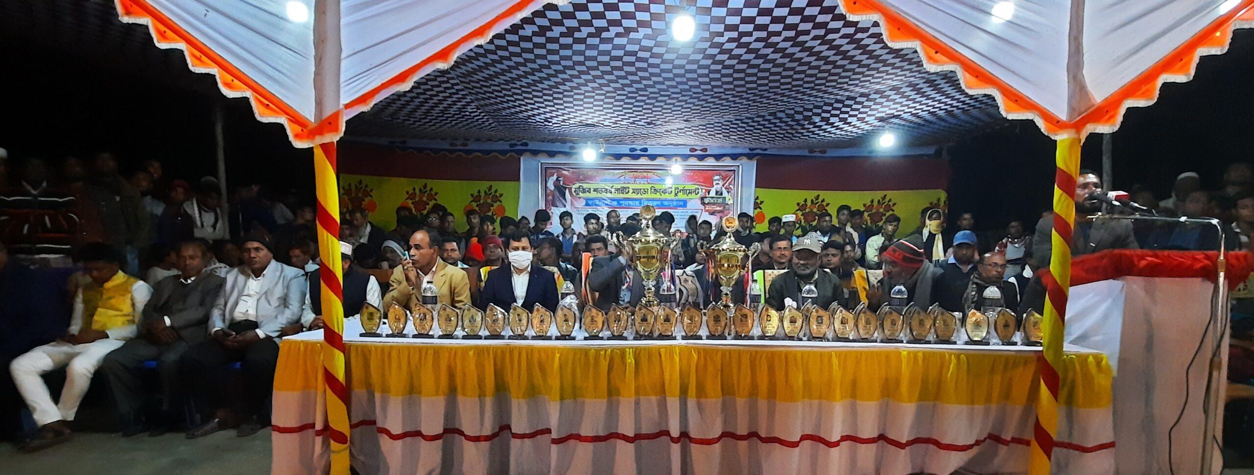 রাঙ্গাবালীতে মুজিব শতবর্ষ নাইট শ্যাডো ক্রিকেট টুর্নামেন্ট এর ফাইনাল অনুষ্ঠিত
