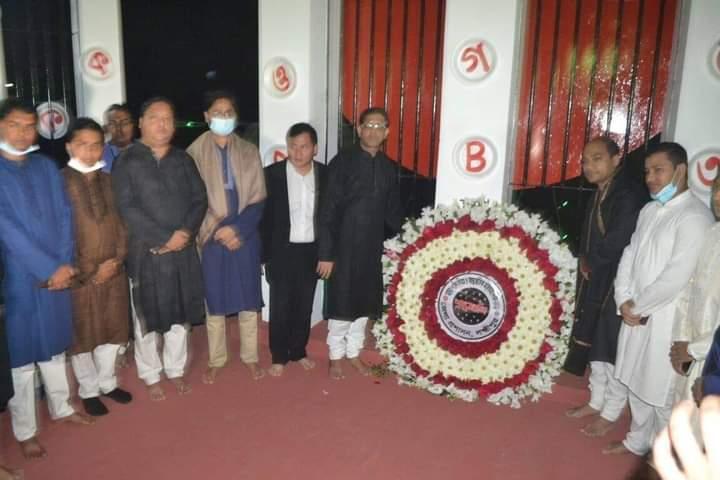 লক্ষ্মীপুরে শহীদদের স্বরণে হাজারো মানুষের শ্রদ্ধাঞ্জলি