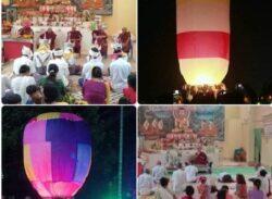 কলাপাড়ায় বৌদ্ধ ধর্মাবলম্বীদের প্রবারনা পূর্নিমা উৎসব শুরু